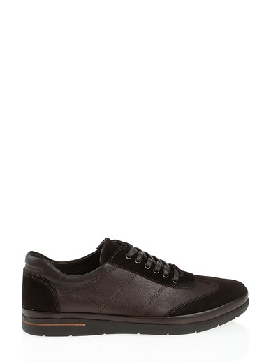 %100 Deri Bağcıklı Ayakkabı-D by Divarese